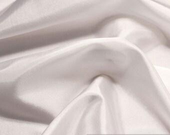 2 meter stof polyester taffeta witte voering discrete glans taffeta jurk