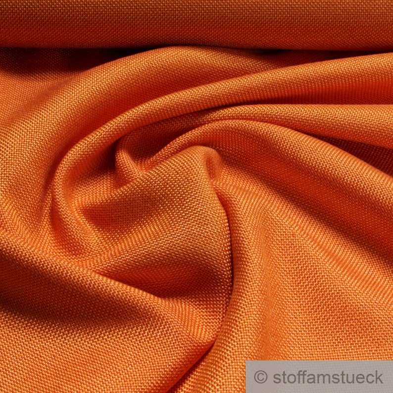 Fabric new wool polyester plain orange crease resistant