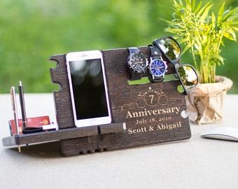 Iphone Standt For Boyfriend Anniversary Gift Husband Birthday