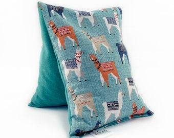 Medium Microwave Heat Pack /  Corn Bag Heating Pad / Spa Gift / Gift for Women / Anniversary Gift /Mama Llamas
