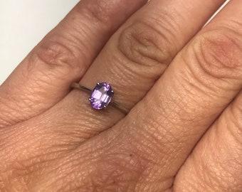 925 Sterlingsilber Handmade Authentisch Türkische Amethyst Damen Ring Size 6-11