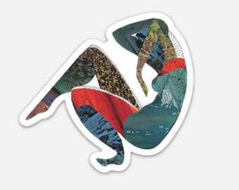 Collapse // Sticker