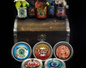Instigator Brand Beard Armor Ultimate Treasure Chest: Oils/Balms
