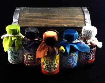 Instigator Brand Beard Armor Treasure Chest/Oils