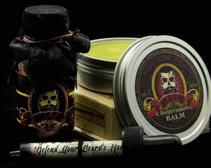 Featured listing image: Cigar Inspired: Ybor Oil/Balm Combo