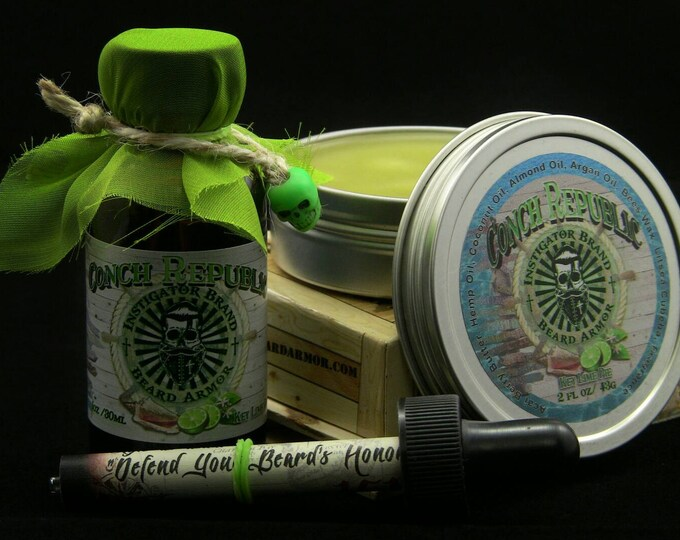 Featured listing image: Key Lime Pie: Conch Republic Oil/Balm Combo