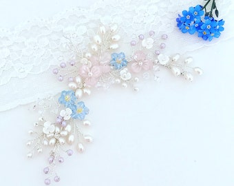 Forget Me Not hairvine