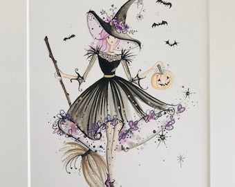 Lolli and Shell Witch giclee print