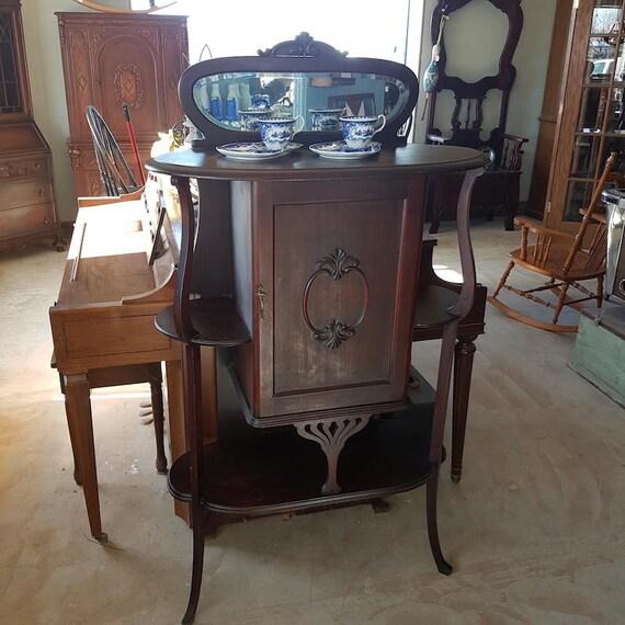 image 0 - Art Nouveau Antique Music Cabinet Etsy