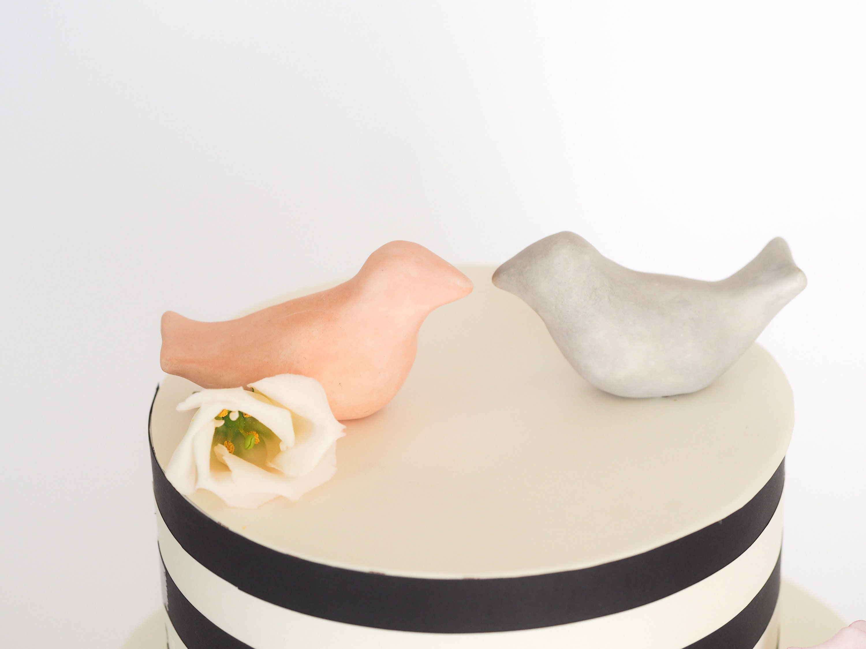 Birds wedding cake topper - Mr and Mrs cake topper - Birds cake ...