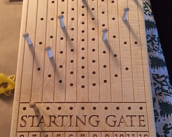 Horse Race Game Etsy