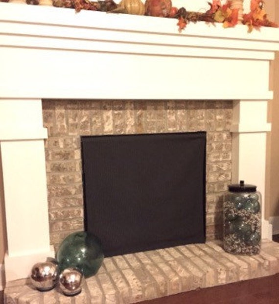 Chill Out Fireplace Draft Eliminator Etsy