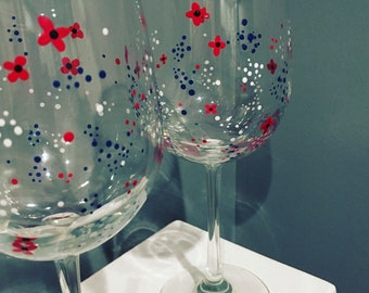 We Remember - Memorial Day Wine Glass