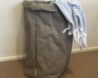 Lavable JUMBO panier papier lavable usine de papier panier à linge blanchisserie Bourriche Eco sac papier sac papier lavable sac
