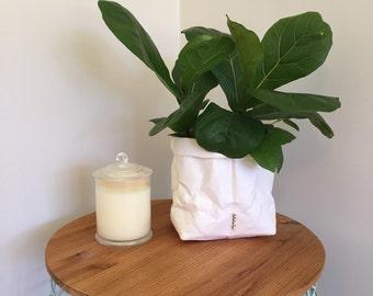 Jardinière en papier lavable grande usine de papier lavable porte cuisine panier Eco papier papier corbeille papier lavable sac sac