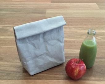 Papier lavable / sac de déjeuner / Lunch Bag Eco sac papier dans son sac bag papier lavable produit Eco emballage