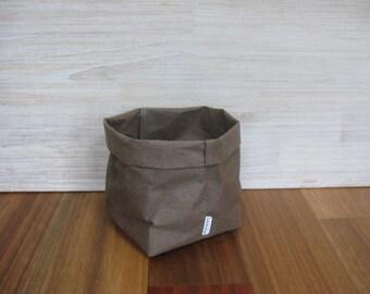 Corbeille à papier lavable grande usine de papier lavable porte cuisine panier Eco papier papier corbeille papier lavable sac sac