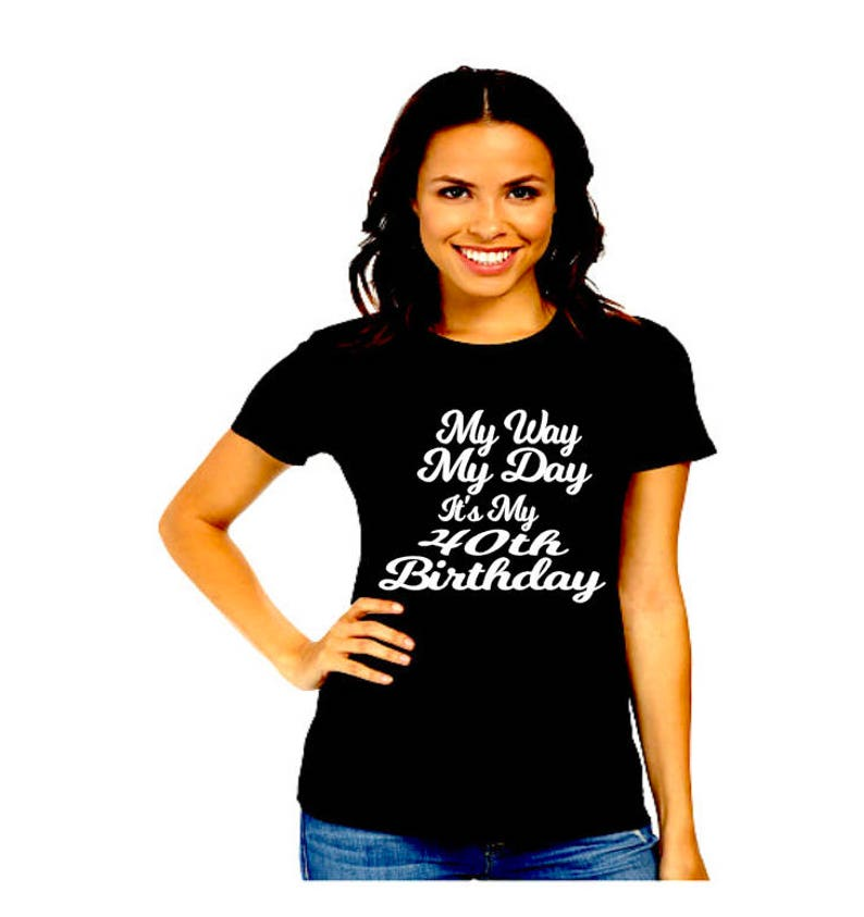 40th Birthday Shirt For Women 40 And Fabulous