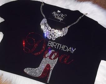 Birthday Girl Shirt, Birthday Diva Shirt,  Women's Birthday T-Shirt, Birthday Squad, Women's Birthday Shirt, Women Birthday Tee