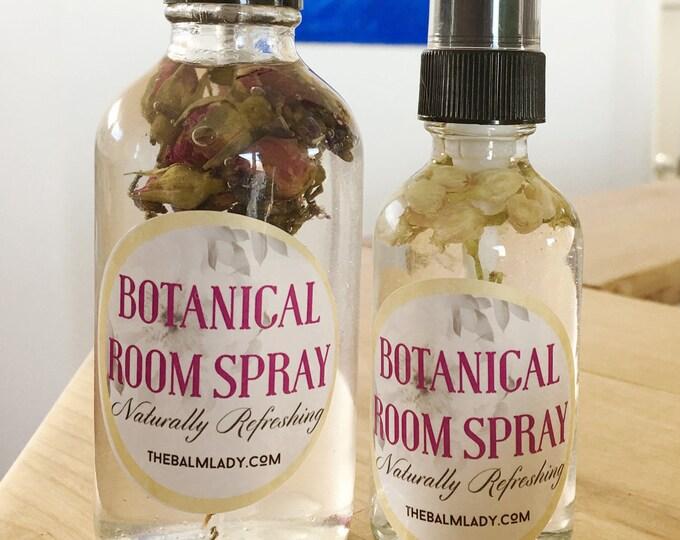 Aromatherapy Spray   Botanical Spray Naturally Refreshing   Flower Essence   Pillow Spray, room refresher   Natural Spray Perfume