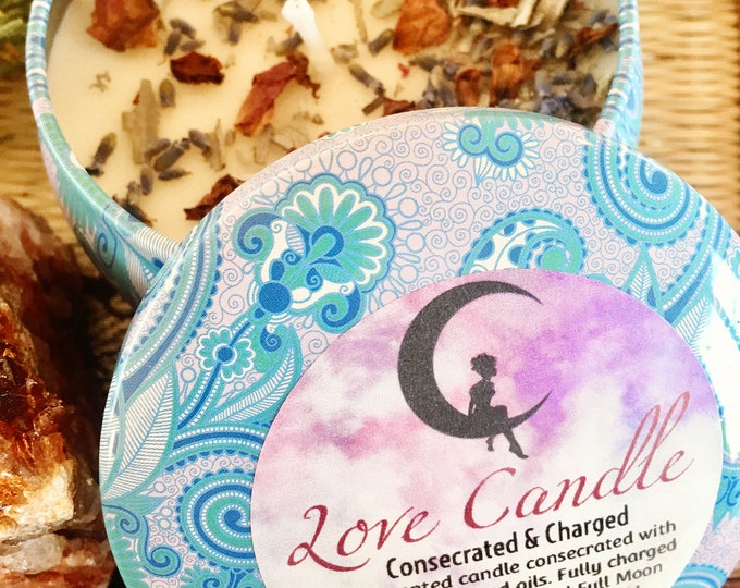 Charged Up Candle | Loaded, Blessed, Fixed Votive Spell Candle | Love, Money, Prosperity, Protection