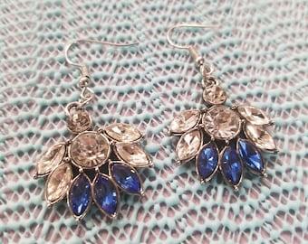 Indian bling earrings