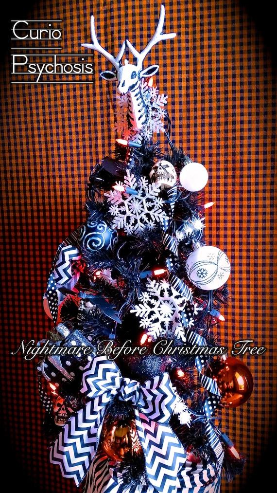 image 0 - Nightmare Before Christmas Tree Halloween Decor Dia De Los Etsy