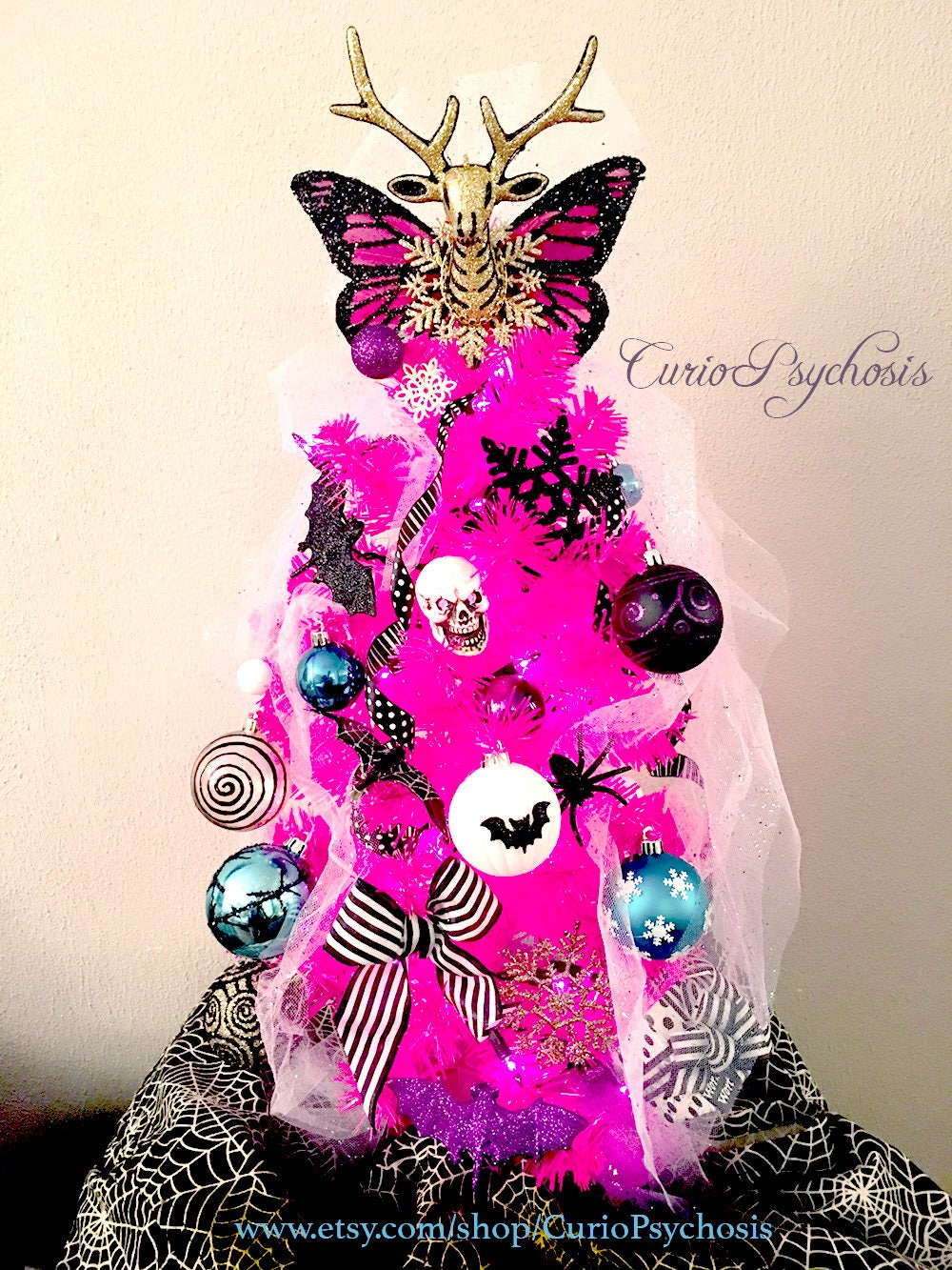 Nightmare Before Christmas Ornament Tree: Sally\'s Tree
