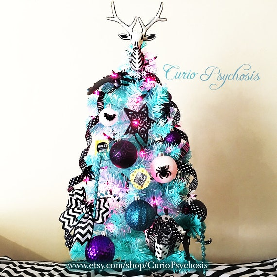 Nightmare Before Christmas Ornament Tree: Sally's Tree Etsy