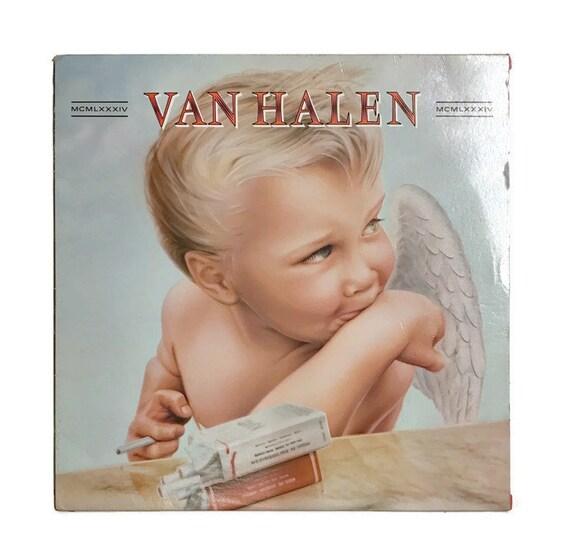 c2669e03177 Van Halen 1984 vinyl record album classic rock