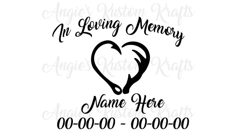 In Loving Memory Car Decals >> In Loving Memory Decals Vinyl Car Decal In Loving Memory Car Decal Car Decal In Loving Memory Vinyl Stickers In Loving Memory Sticker