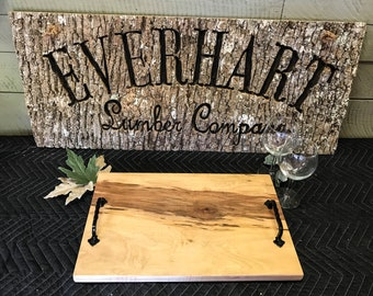 Serving Tray- Charcuterie Board made from Maple Wood ST1