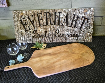 Bread Board- Charcuterie Board made from Sycamore BB-3