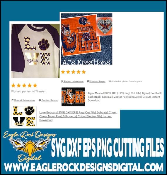 Bobcats Football Svg Dxf Eps Png Cut File Bobcats Etsy