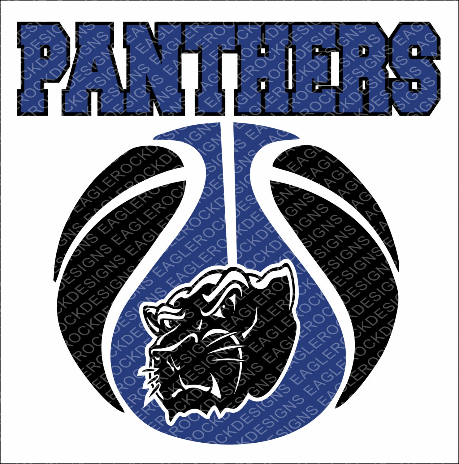 Panthers Basketball Svg Dxf Eps Cut File For Cameo And Cricut Etsy
