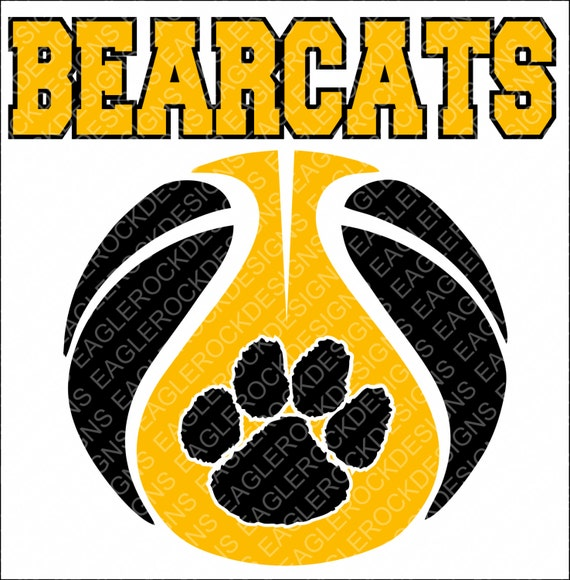 Bearcats Basketball SVG DXF EPS Cut File For Cameo and Cricut  233af9a7f