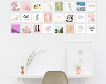Inspirational Cards, Inspirational Quote Cards, Inspirational Collage, Encouragement Cards, Vision Board Cards, Affirmation Cards, Quote