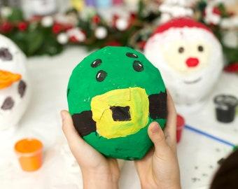 Elf Kit, DIY Elf, Christmas Kit, DIY Craft Kit, Paper Mache Elf, Christmas Activities for Kids, Christmas Activity Box, Fun Activities