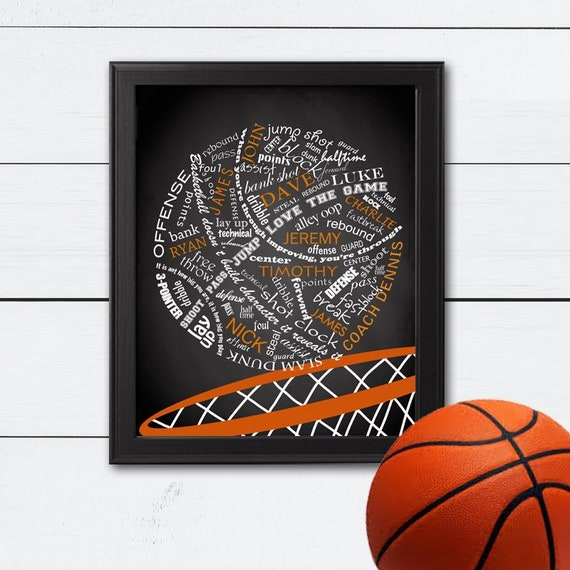 37cfd1b4f3e Personalized Basketball Personalized Basketball Gifts | Etsy