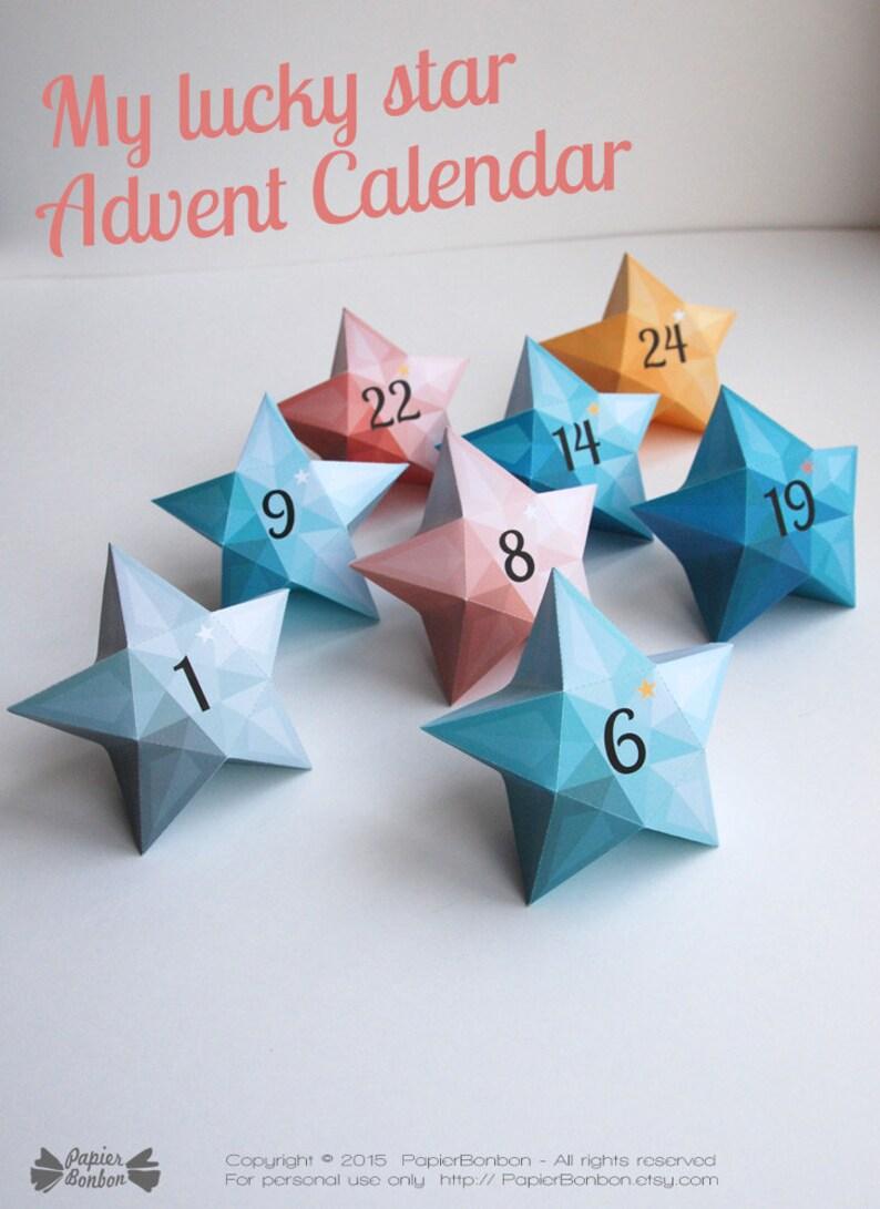 Advent calendar printable Christmas calendar christmas image 0