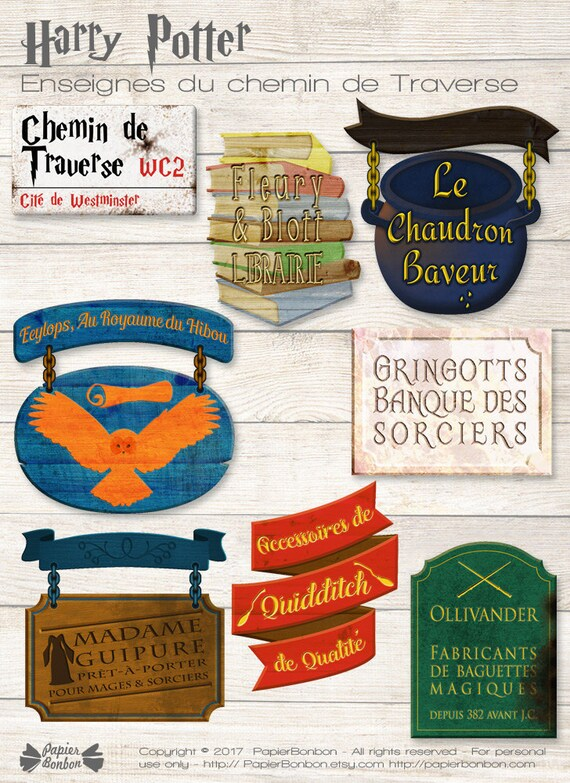 graphic about Harry Potter Signs Printable referred to as Keep signs or symptoms Decor printable, PDF Data files, motivated through Harry PotterDiagon Alley, Harry Potter Occasion decor within FRENCH