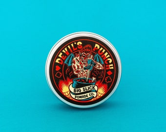 Devil's Punch Hair Pomade • Heavy Hold