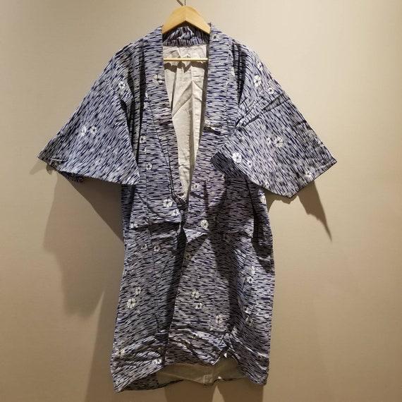 Antique Japanese Vintage Indigo Kimono