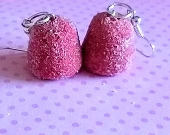 Gum Drops Earrings - Miniature Food Jewelry, Inedible Jewelry, Candy Jewelry, Gum Drops Jewelry, Kid's Jewelry, Kawaii Jewelry,  Fake Food