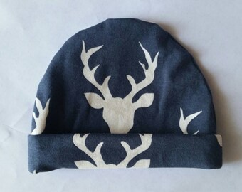 Stag Newborn Hat, Buck Newborn Hat