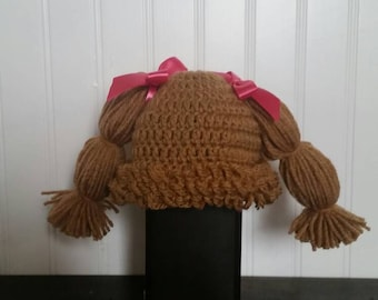Cabbage Patch Doll Hat