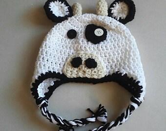 Cow Hat, Photo Prop