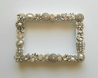 Jeweled Frames Etsy