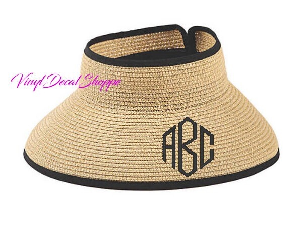 9cfaa2bf3fd99 Custom Monogrammed Beach Hat