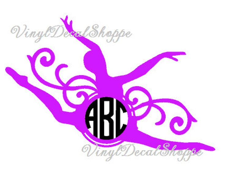 Dancing Girl Ballerina Ballet Dancer Car Decal Wall Stickers Kids Room Decor Ebay